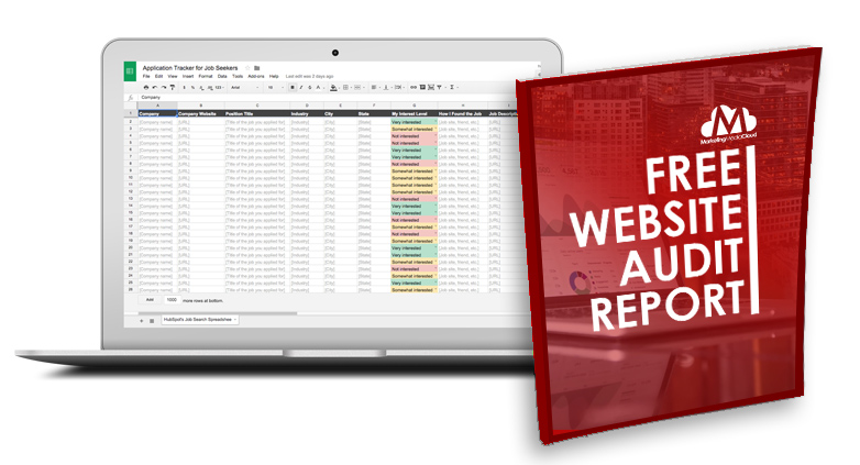 Request A Free Website Audit Report Today!