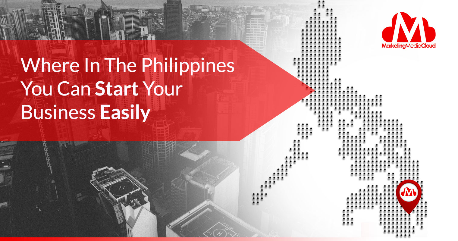 This Map Shows the 25 Philippine Cities You Can Easily Start a Business