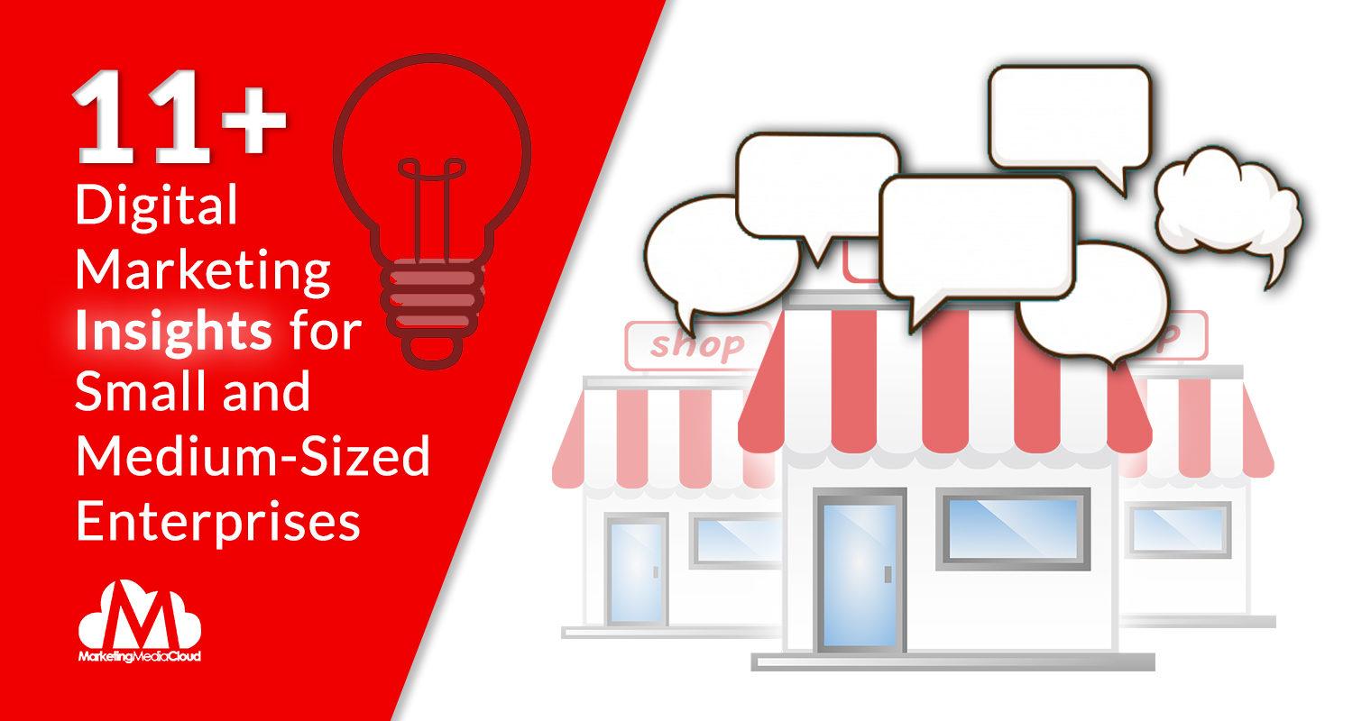 11+ Digital Marketing Insights for Small and Medium-Sized Enterprises