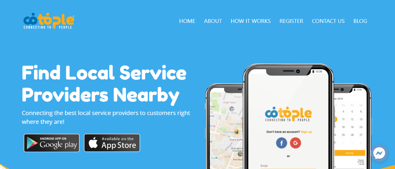 Find Local Service Providers Nearby with Cotople