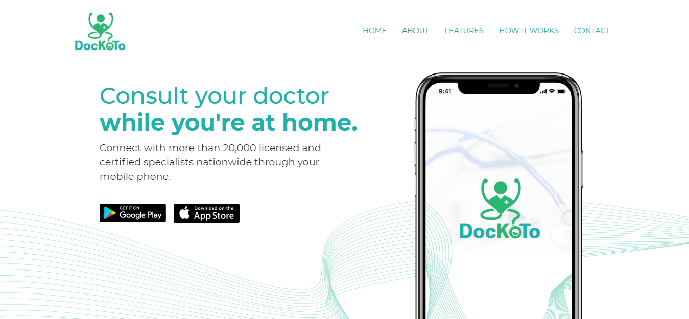 Consult your doctor while you're at home with DocKoTo